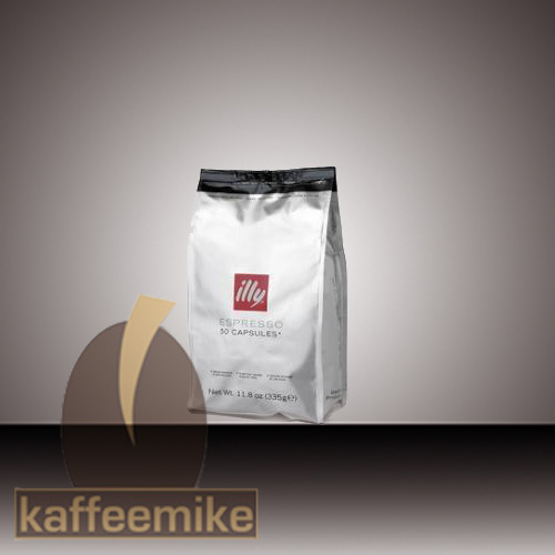 Illy 50 HES Kapseln Metodo Iperespresso Espresso Roestung S