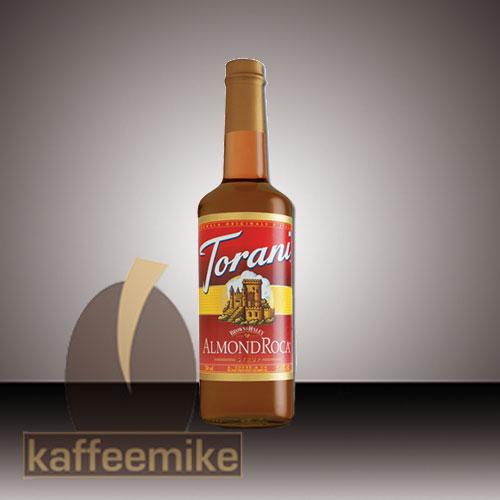 Torani Sirup Almond Roca 0,75l Flasche