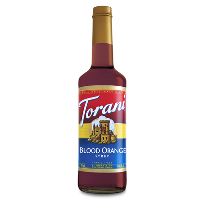 Torani Sirup Blood Orange 0,75l Flasche