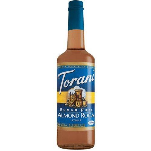 Torani Sirup Almond Roca zuckerfrei 0,75l Flasche