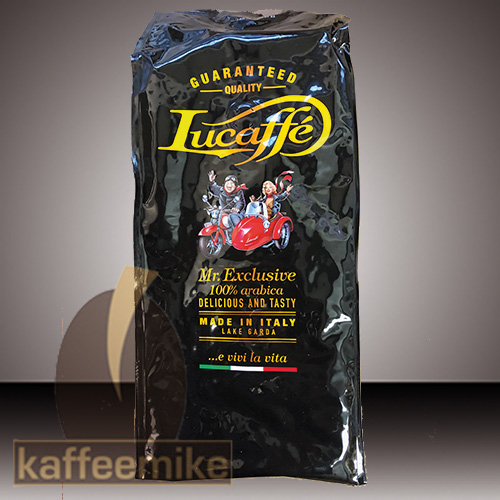 Lucaffe Mr. Exclusive 100% Arabica 1000g Bohne