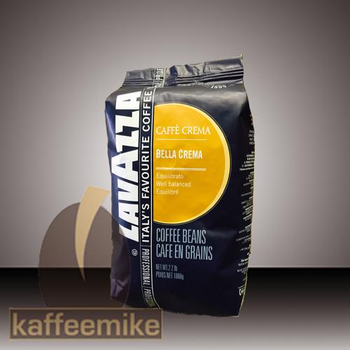 Lavazza Bella Crema Espresso Kaffee 1000g Bohnen