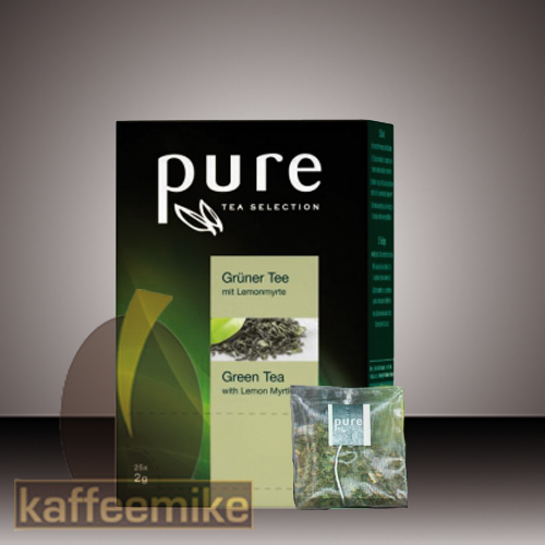 Pure Tee Gruener Tee mit Lemon Selection Tea 25x2g