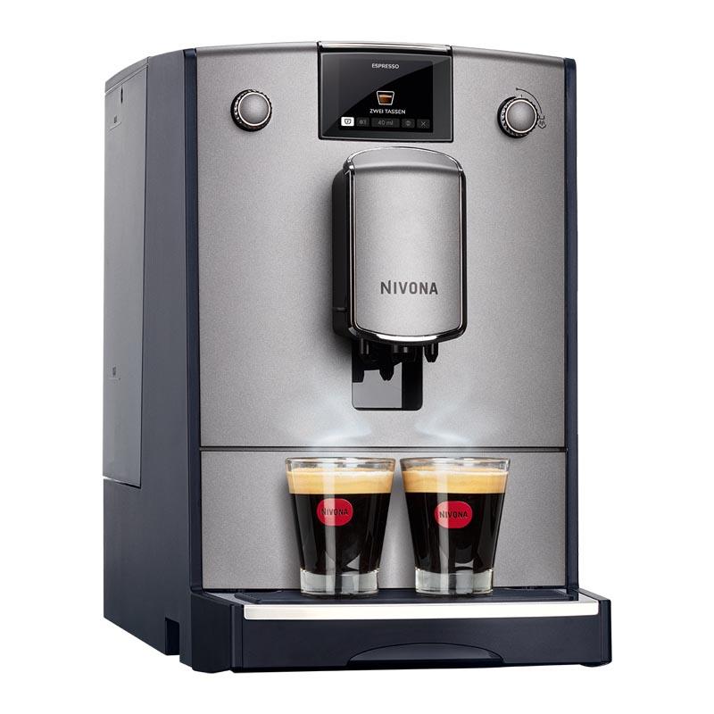 nivona caferomatica 670 kaffeevollautomat silber. Black Bedroom Furniture Sets. Home Design Ideas