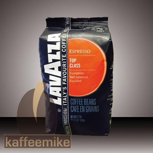 ! Lavazza  Top Class Espresso Kaffee 1000g Bohne