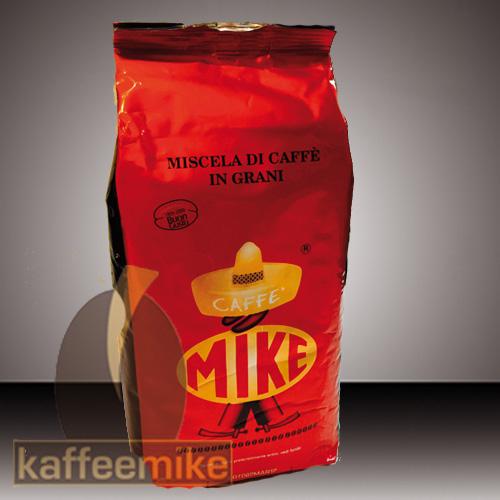 Caffe Mike - Miscela Bar Rosso 1000g Bohne