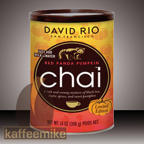 David Rio Red Panda Pumpkin Chai Tee Limited Edition 398g