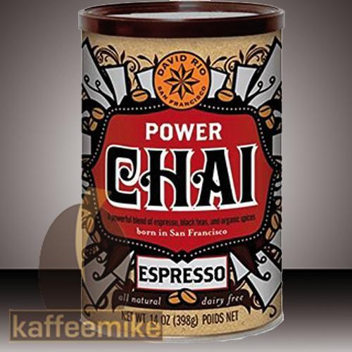 David Rio Power Espresso Chai Tee 398g