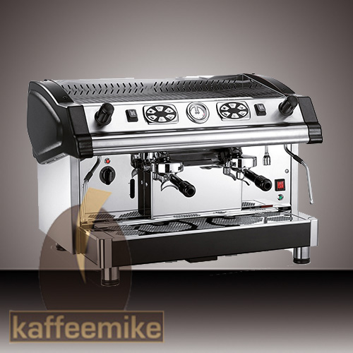Royal Tecnica Elettronica Espressomaschine - 2gruppig Schwarz