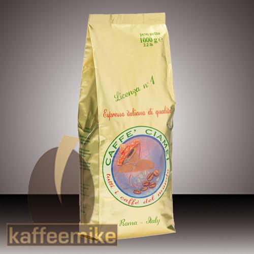 Caffe Ciamei Espresso Kaffee - Gold 1000g Bohne