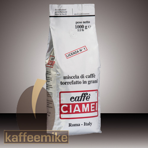 Caffe Ciamei Espresso Kaffee - Silber 1000g Bohne