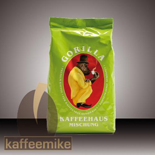 Gorilla Kaffeehaus Creme - Espresso Kaffee 1000g Bohnen