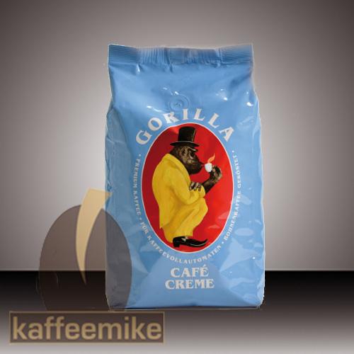 Gorilla Cafe Creme - Espresso Kaffee 1000g Bohnen