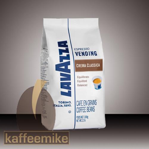 Lavazza Espresso Crema Classica Vending 1000g Bohnen