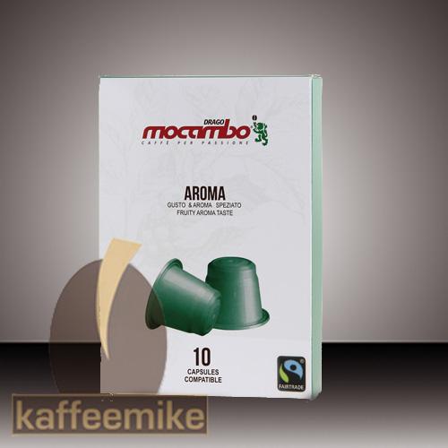 Mocambo Aroma Nespresso kompatibel 10 Kapseln je 5g