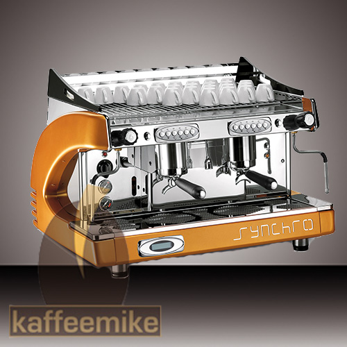 Royal Synchro Espressomaschine - 2gruppig Orange