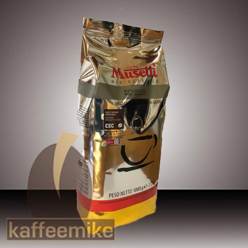 Musetti Caffe Evoluzione 1000g Bohne