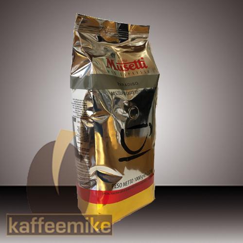Musetti Caffe Paradiso 1000g Bohne