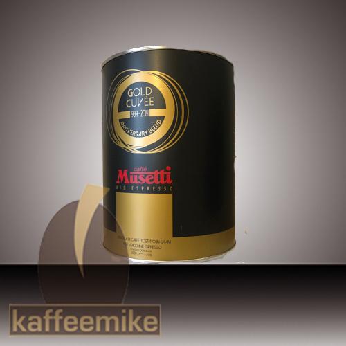 Musetti Caffe Gold Cuvee 2000g Dose Bohne