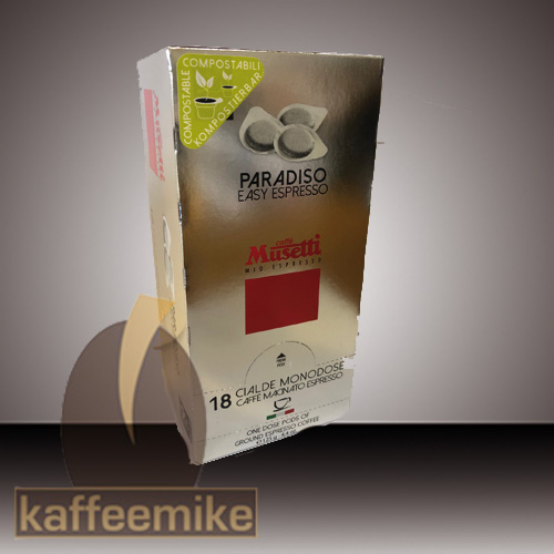 Musetti Caffe Paradiso Tabs Pads Cialde 18stk
