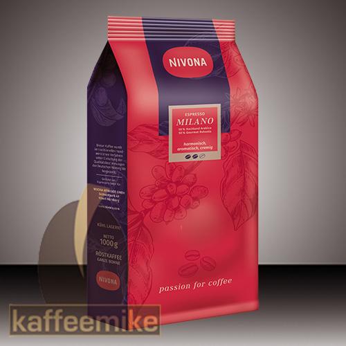 Nivona Espresso Milano 1000g Bohne