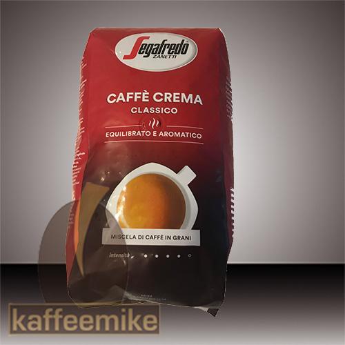 Segafredo Caffe Classico 1000g Bohnen