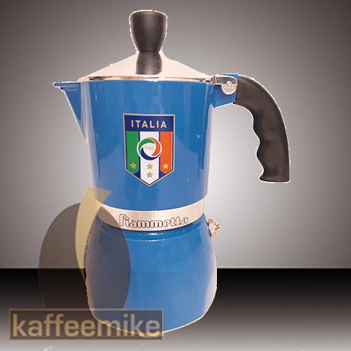 Bialetti Espressokocher Fiammetta 3 Tassen Nazionale Azzurri