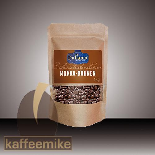Mokkabohnen Schokolade 44% 1kg DULIAMO