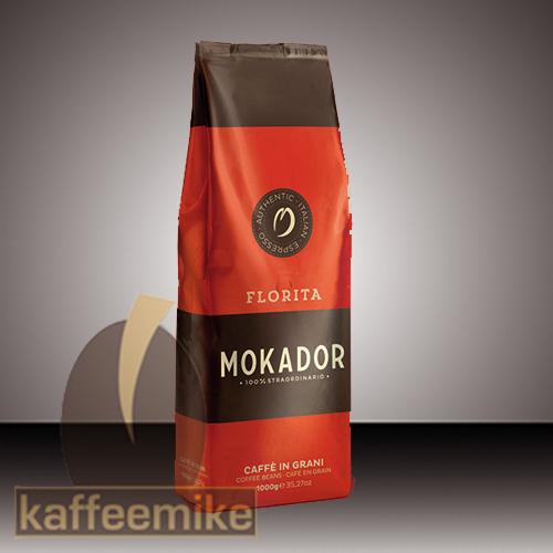 Mokador Florita Espresso Kaffee  1000g Bohnen