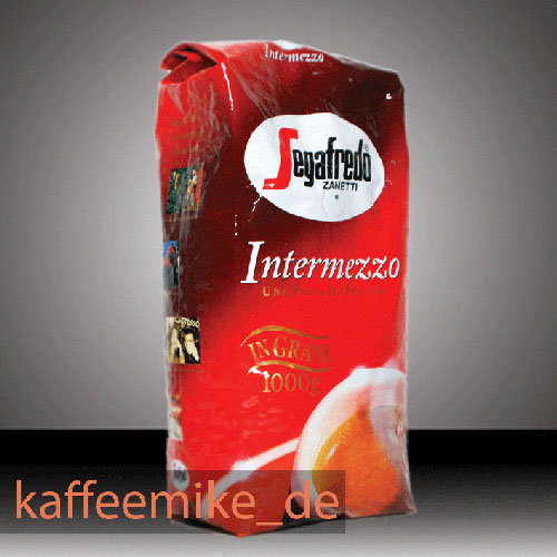 Segafredo Espresso Kaffee - Intermezzo 1000g Bohnen