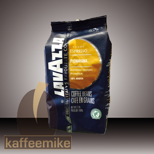 ! Lavazza Pienaroma Espresso Kaffee 1000g Bohnen