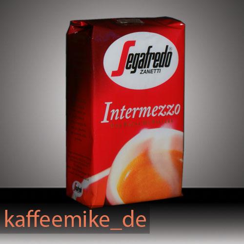 Segafredo Intermezzo Espresso Kaffee 250g gemahlen