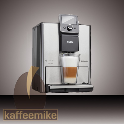 nivona caferomatica 858 kaffeevollautomat one touch chrome. Black Bedroom Furniture Sets. Home Design Ideas