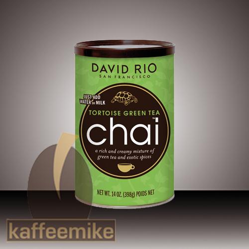 David Rio Tortoise Green Chai Tee 398g Dose