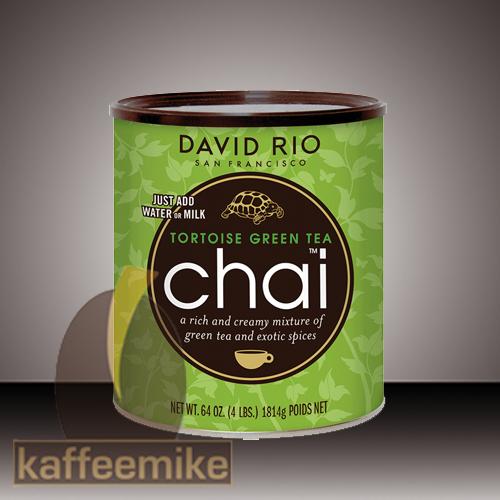 David Rio Tortoise Green Chai Tee 1816g Dose