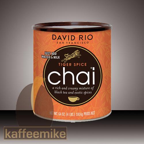 David Rio Tiger Spice Chai Tee 1816g Dose