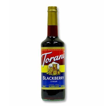 Torani Sirup Blackberry 0,75l Flasche