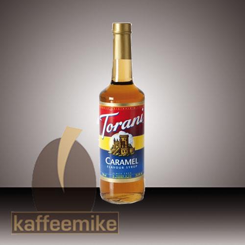 Torani Sirup Caramel 0,75l Flasche