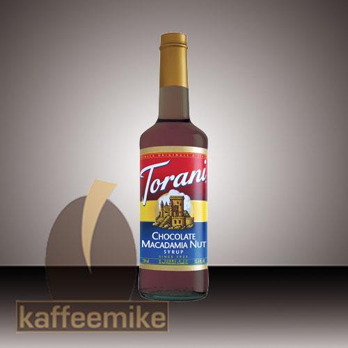Torani Sirup Chocolate Macadamia Nut 0,75l Flasche