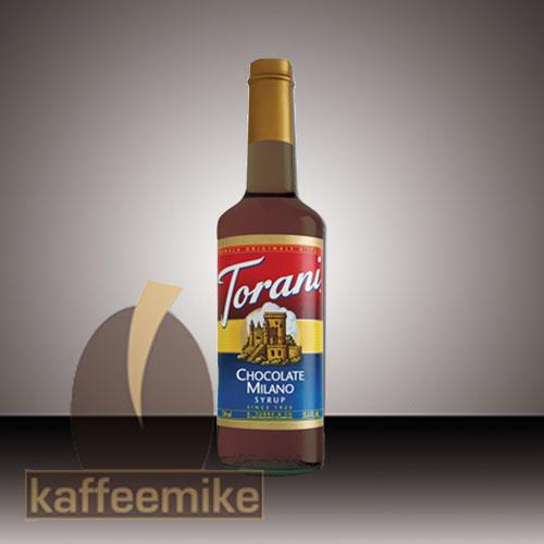 Torani Sirup Chocolate Milano 0,75l Flasche