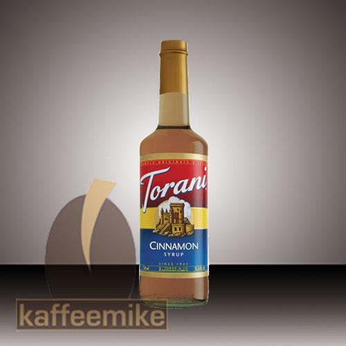Torani Sirup Cinnamon 0,75l Flasche