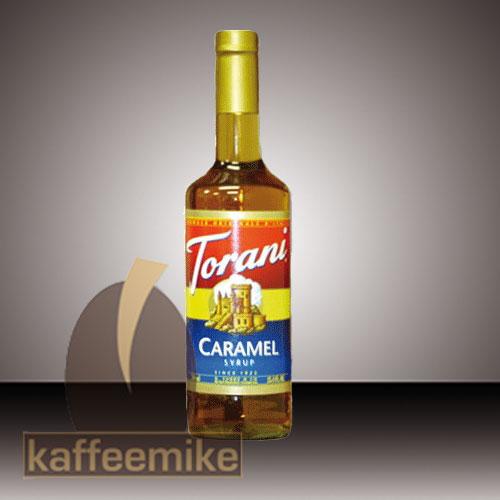 Torani Sirup Creme de Caramel 0,75l Flasche