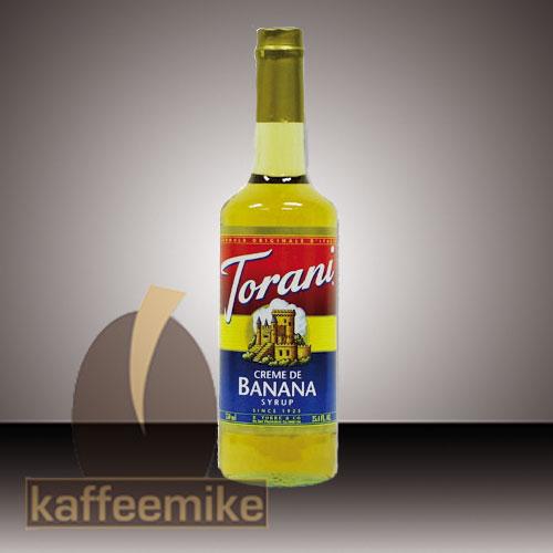 Torani Sirup Creme de Banana 0,75l Flasche