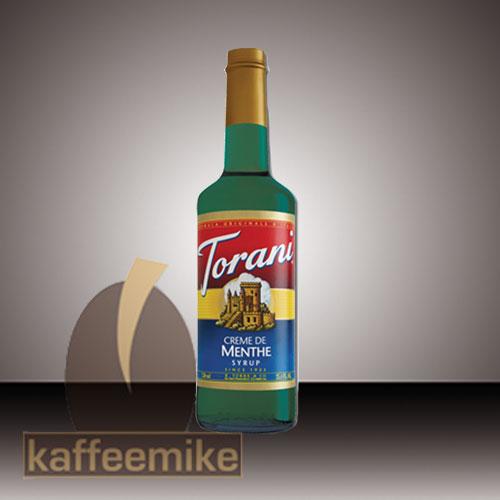 Torani Sirup Creme de Menthe 0,75l Flasche