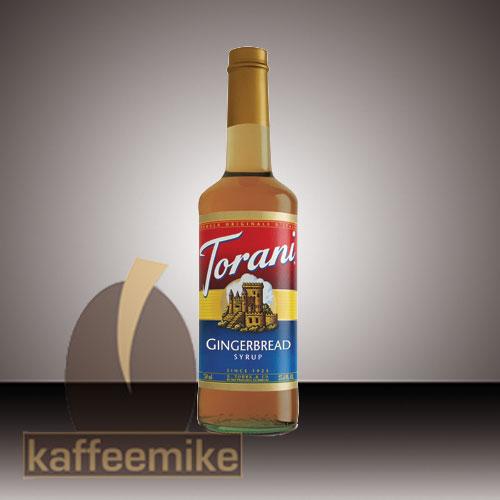 Torani Sirup Gingerbread 0,75l Flasche