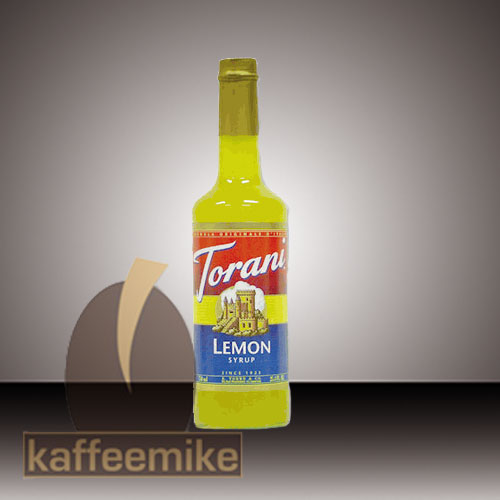 Torani Sirup Lemon 0,75l Flasche