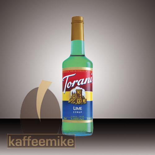 Torani Sirup Lime 0,75l Flasche