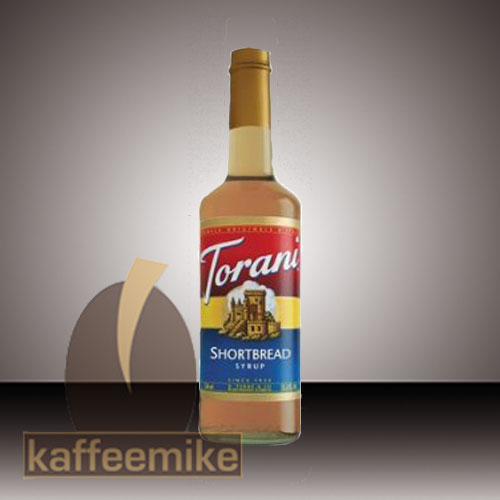 Torani Sirup Shortbread 0,75l Flasche