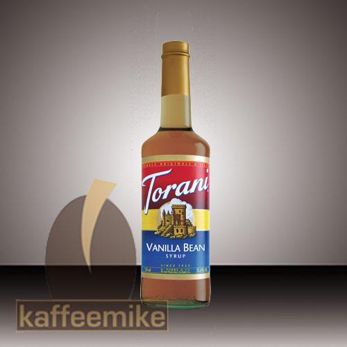 Torani Sirup Vanilla Bean 0,75l Flasche