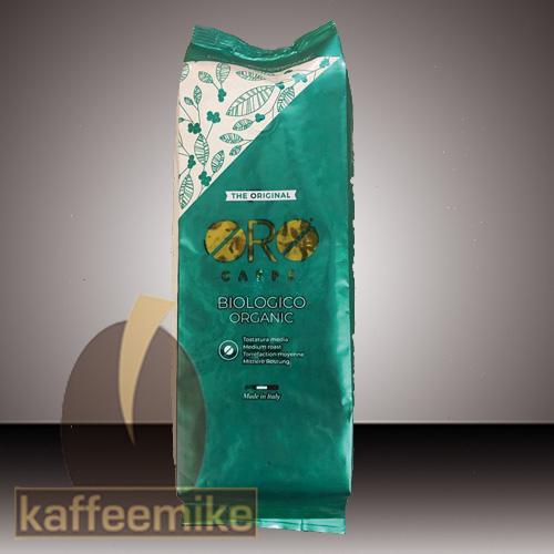 Oro Caffe Biologico Organic 500g Bohne